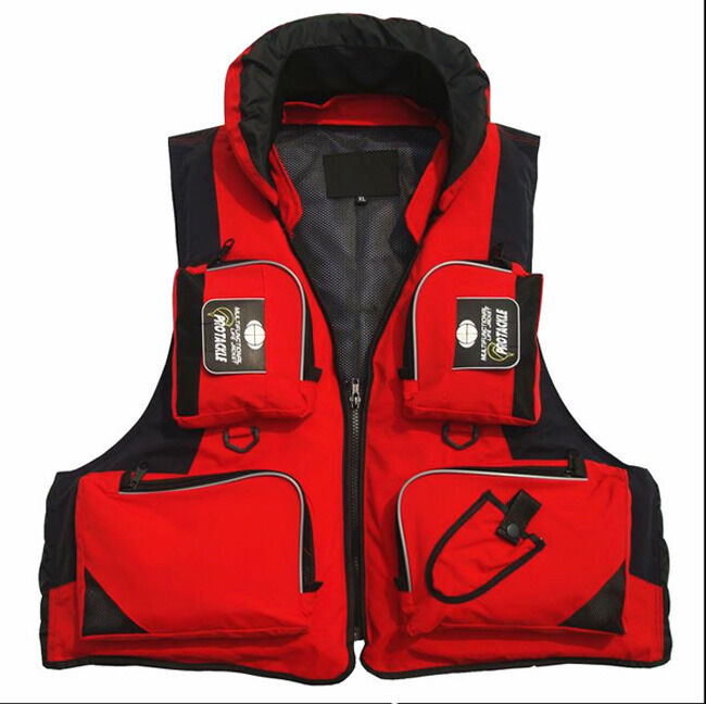 Stock in fishing life jackets hooded buoyancy aid sailing for Fishing life jackets