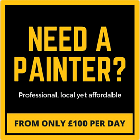 Paint Any Room From Only £180 - Professional Painters & Decorators