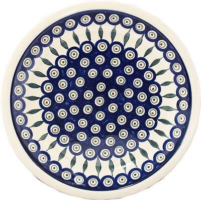 "Polish Pottery Dinner Plate 11"" GU1014/56 from Zaklady Boleslawiec"