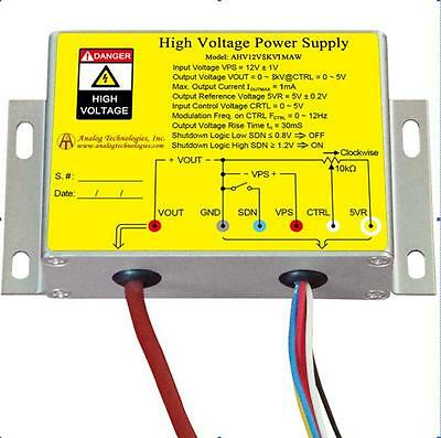 High Voltage Power Supply Dc-dc Conversion 8kv 1ma Free Shipping