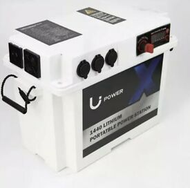 BNIB-Battery Box With 240V Pure Sine Wave Inverter & USB