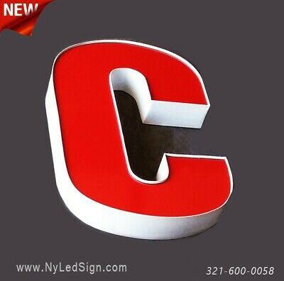New Led Channel Letters Business Sign - 20 - Custom Made