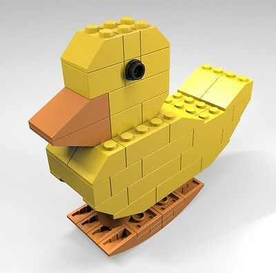 Constructibles  Jkbrickworks Walking Duck   Lego  Parts   Instructions Kit
