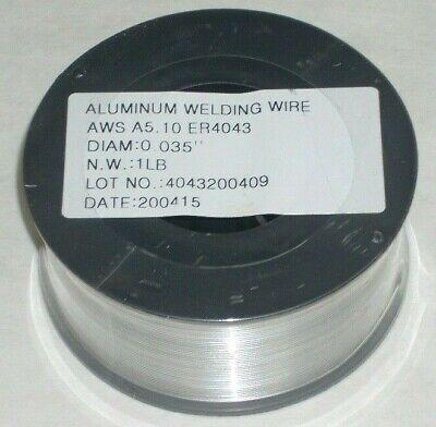 10 Rolls 4043 .035 Aluminum Mig Welding Wire 1 Lb Roll 4 Dia For Spool Guns