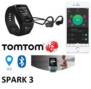 LIGHTLY USED USED (GOOD CONDITION) TOMTOM SPARK 3 GPS FITNESS +