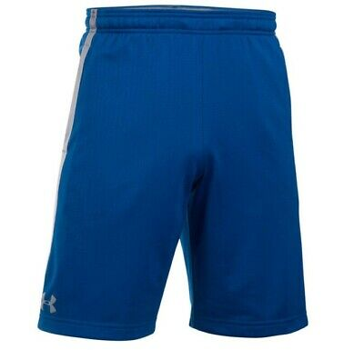 Men's New Under Armour Tech Mesh Long Shorts - Fitness Sports Gym Summer - Blue