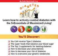 Maximized Living - Combat Diabetes - Workshop