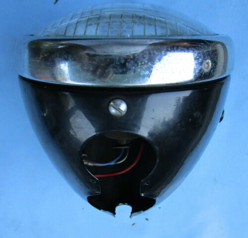 VINTAGE LUCAS MOTORCYCLE HEAD LIGHT LAMP SSP575P BSA BANTAM LIGHTWEIGHT 50s RARE