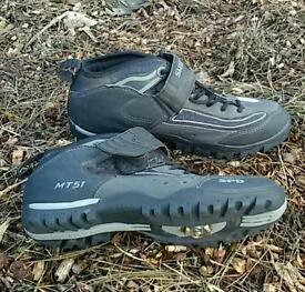 Shimano Men's MTB Sport SPD SH Cycling Shoes black