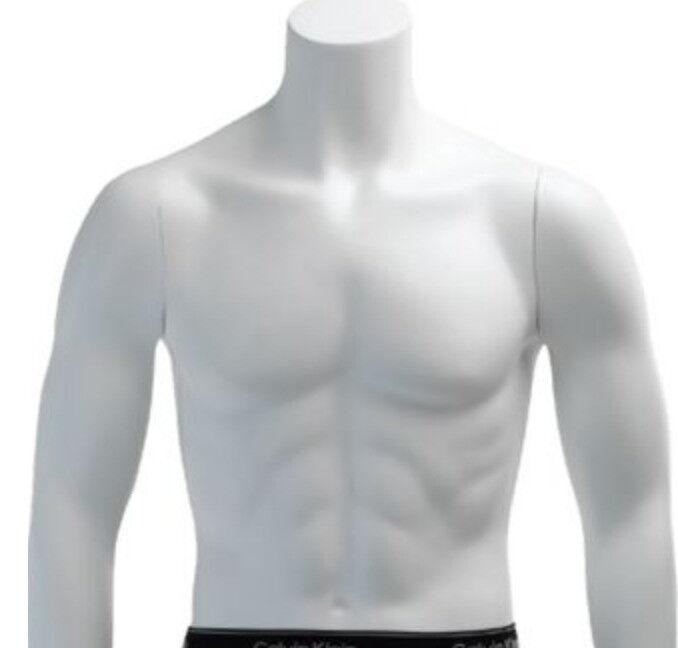 White Headless Male Mannequin