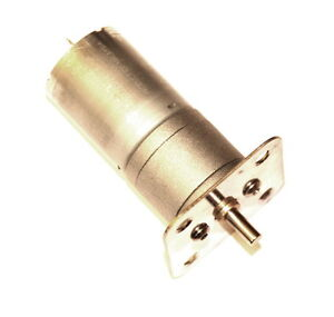 Geared Electric 12 Volt DC 125RPM Motor suitable for Meccano