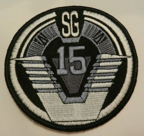 Stargate SG-15 Uniform Logo Embroidered Patch - new
