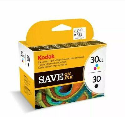 Kodak Ink Combo Pack 30B/30CL New sealed in shrinkwrap.