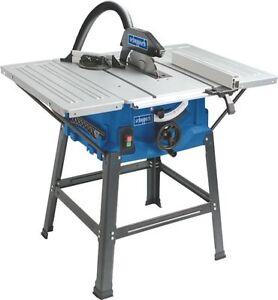 Scheppach HS100S Tischkreissäge mit Tischverbreiterung Holzsäge Handkreissäge