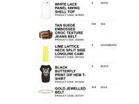 New look women's clothes bundle great resale car boot