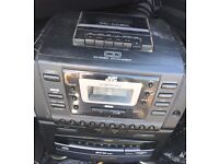 Jvc PC-XC60 10 disk changer/cassette/am/fm radio