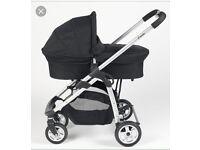 Icandy 3 in 1 travel system - pram buggy car seat