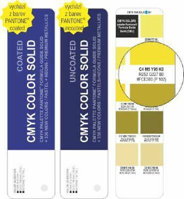 Color Cmyk Solid Coateduncoated - Pantone For Digital Print