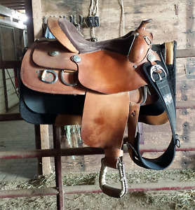 "16"" FQHB Training Saddle"