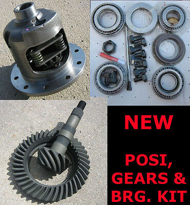 Gm 8.5 10-bolt Posi - 3.90 Ring & Pinion Gear - Bearing Package - 30 Spline