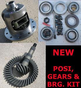 8-8-034-Ford-Yukon-Posi-28-Spline-5-13-Ring-amp-Pinion-Gear-Bearing-Package-NEW