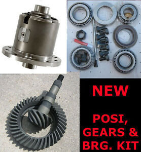 GM-8-6-034-Detroit-Eaton-True-Trac-3-90-Ring-amp-Pinion-Bearing-Kit-30-Spline