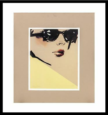 "Ashley David ""Chic"" (Style/Fashion/Model/Shades) Framed"