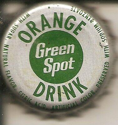 Pop Drink (GREEN SPOT ORANGE DRINK soda pop bottle)