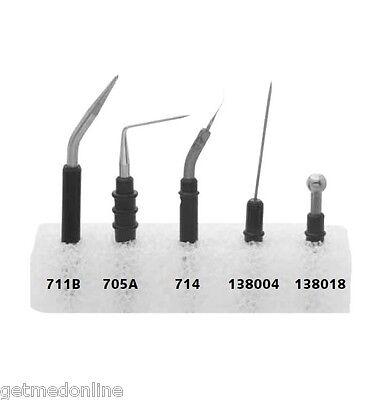 Conmed Reusable Electrode Starter Kit For Hyfrecators 5 Electrodes 700 - New