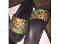 Gucci sliders brand new