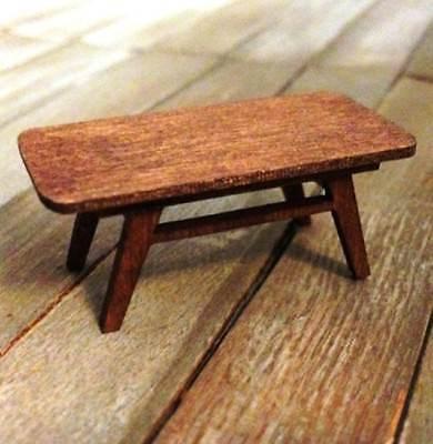 Puppenhaus Miniatur Quarter Maßstab Mitte des Jahrhunderts Modern Esstisch Set - - Mitte Des Jahrhunderts Moderne Möbel