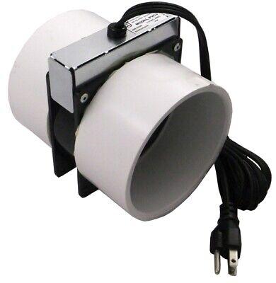 Tjernlund Pvc4 4 Pvc Pipe Radon Mitigation Booster Fan 16w
