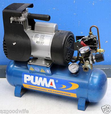 Puma Industries La-5706 Single Stage Oil-less Direct Drive Series Air Compressor