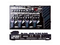 Boss ME-70 Multi-Effects Processor Guitar FX Pedal Multi FX ME70