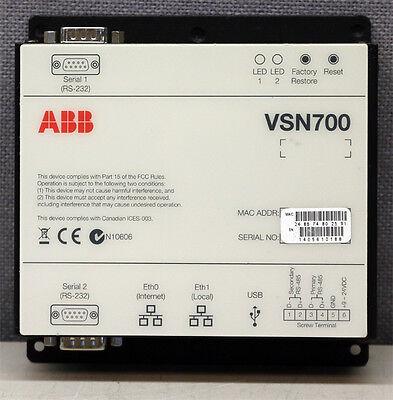 Power-one Abb Vsn700-01 Solar Monitoring Data Logger Inverter
