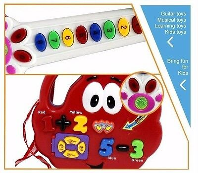 Baby Toy Guitar Educational Fun Musical developmental fun holiday gift for kids