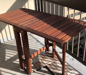 Table | Balcony - Terrasse - Backyard