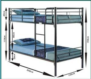 NEW SINGLE BUNK BEDS COMMERCIAL GRADE For HOTELS,MOTELS,RESORTS