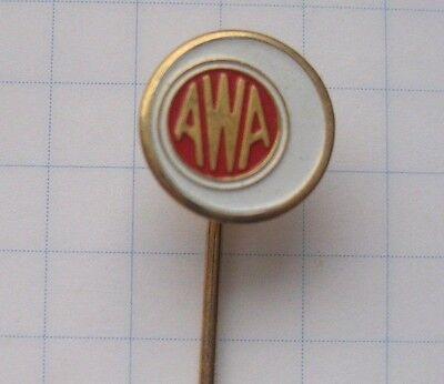 AWA BROADCAST / UNTERHALTUN  ...... Anstecknadel/kein-Pin (Ka1/2)