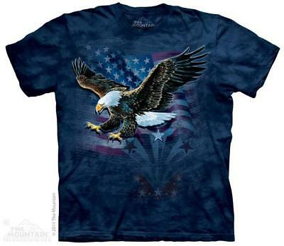 Eagle US Flag Declaration of Independence The Mountain T-Shirt (3195) All Sizes ()