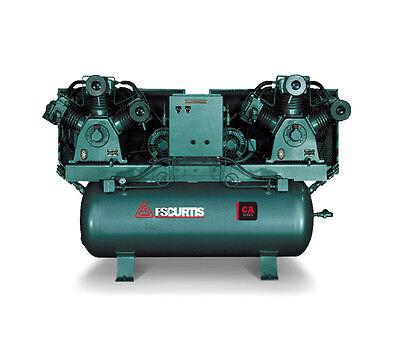 Fs Curtis Ca Series Duplex Horizontal Tank Mounted Air Compressor 5 Hp