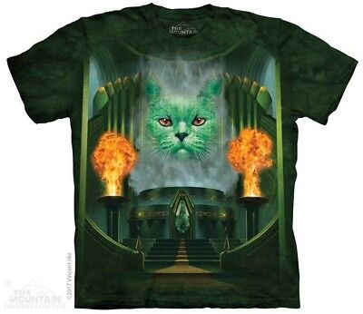 Cat The Great & Powerful T-Shirt by The Mountain. Wizard of Oz Tee S-5XL NEW (Cat Wizard Of Oz)