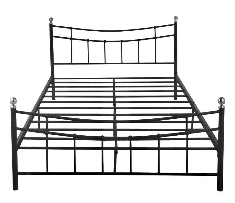 Metal Bed Frame - Eversholt collection (Standard Double Size) | in ...