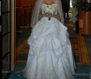 Wedding Dress by Allure Bridal
