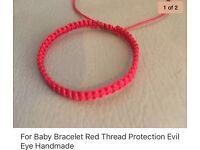 For Baby Bracelet Handmade Red Protection Evil Eye