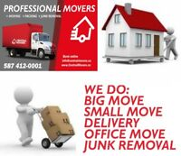 MOVING from $65 / hr - CENTRAL MOVERS 587 4120001