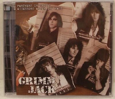 Grimm Jack Partners In Crime Full Album CD Factory Sealed Hard Rock Sleaze Glam