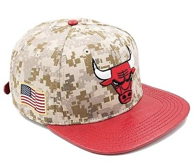 Basketball Nba Chicago Bulls Mitchell And Ness Five Panel Buckle Back M&n Cap Hat Rare New