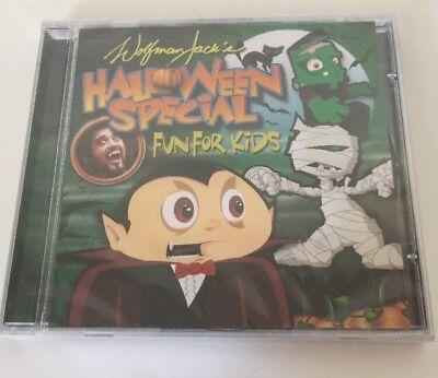 Wolfman Jack halloween special  2007 U.S. CD 3D flicker cover