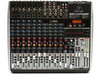 Xenyx QX1832 18-Input 3/2-Bus Mixer, KLARK TEKNIK, USB/Audio Interface